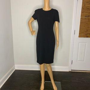 Calvin Klein classic black dress